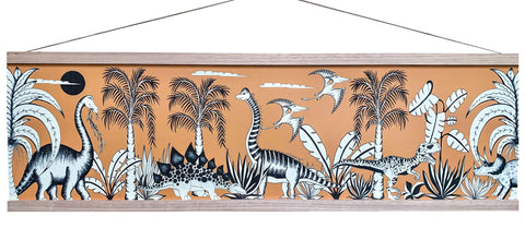 Art Hanger Large - Dinosaur Adventures / 92cm x 32cm