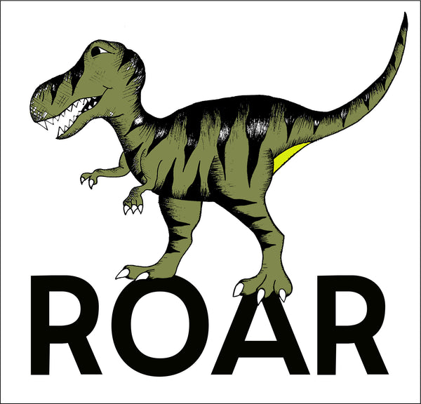 Square ROAR T-REX Print / Small
