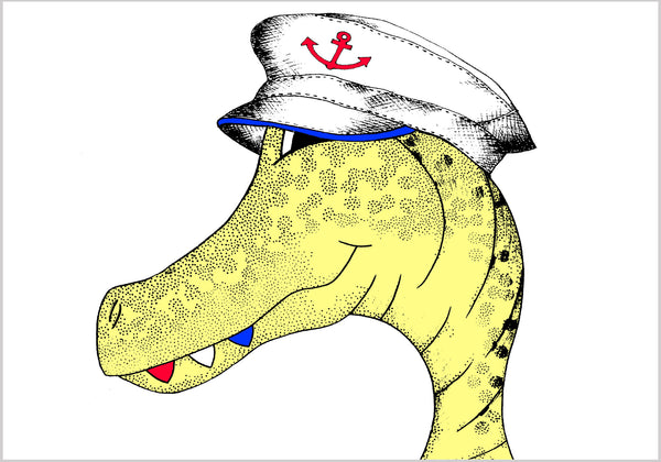Sailor Sam Allosaurus