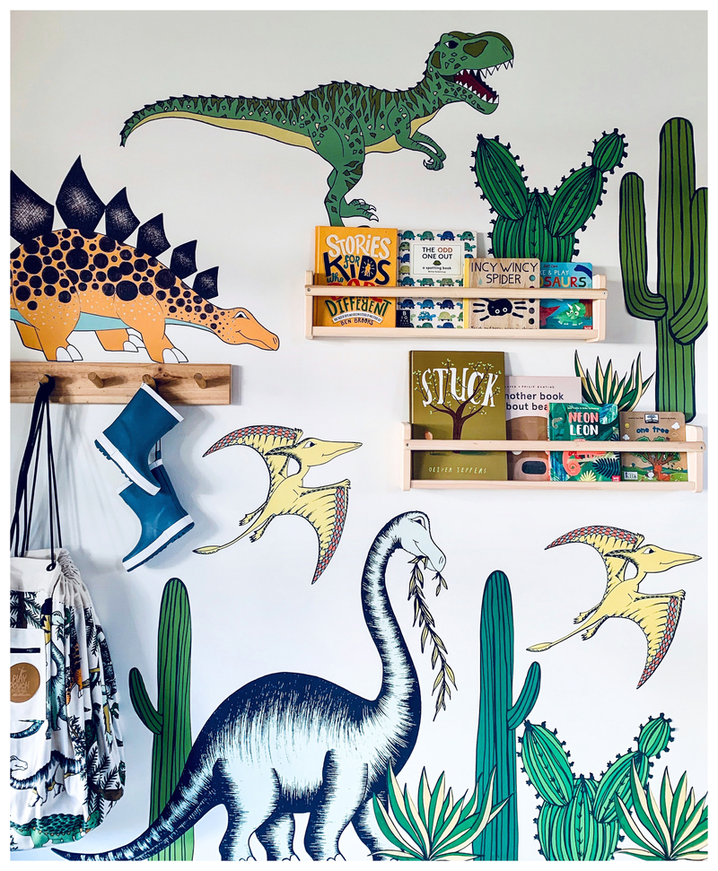 Dinosaur Fabric Decals