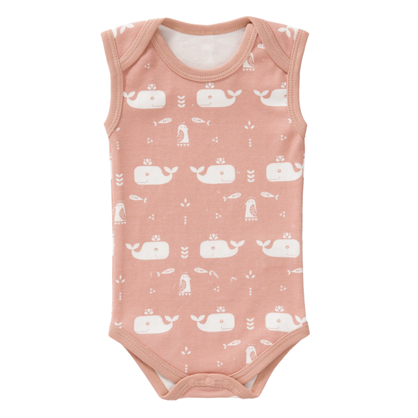 Romper zonder mouw Whale Mellow Rose