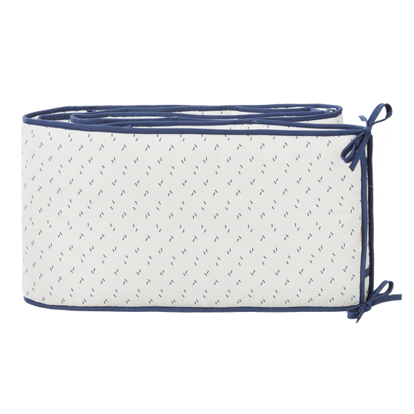 Parkomranding Diagonals Indigo Blue (box of bed)