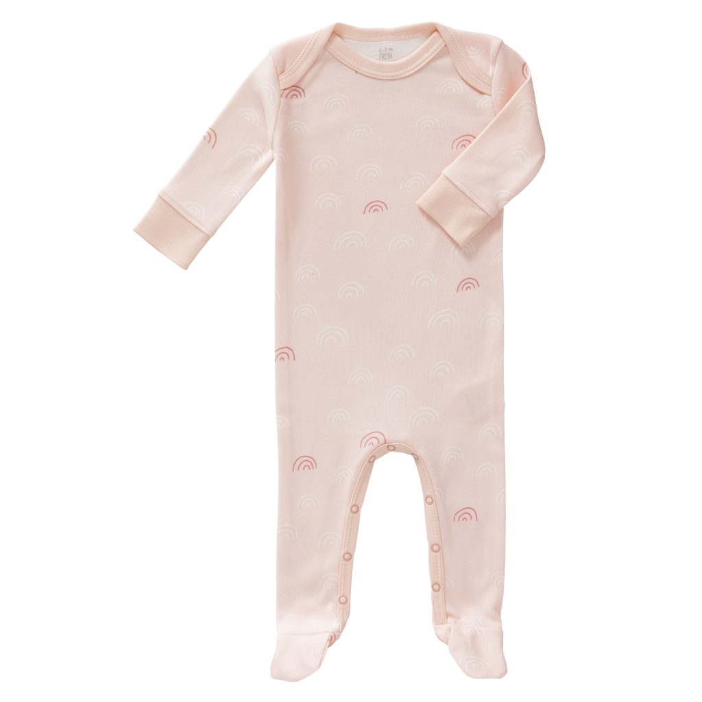 Pyjama met voet Rainbow Chintz Rose