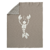 Gebreide deken Lobster Grey
