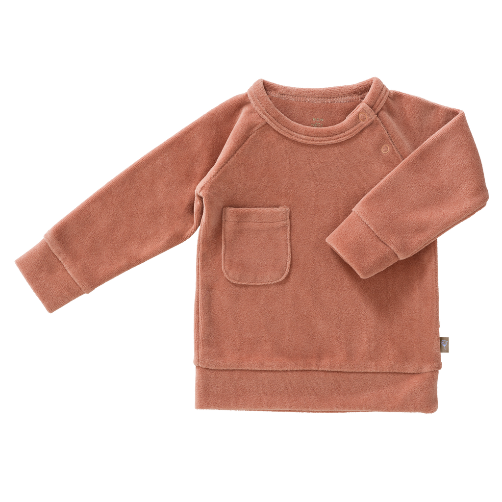 Sweater Velours Ash Rose