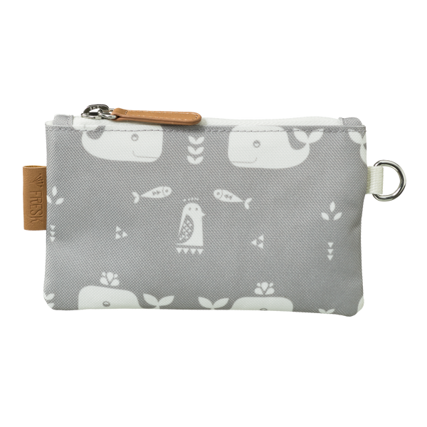 Portemonnaie small whale dawn grey