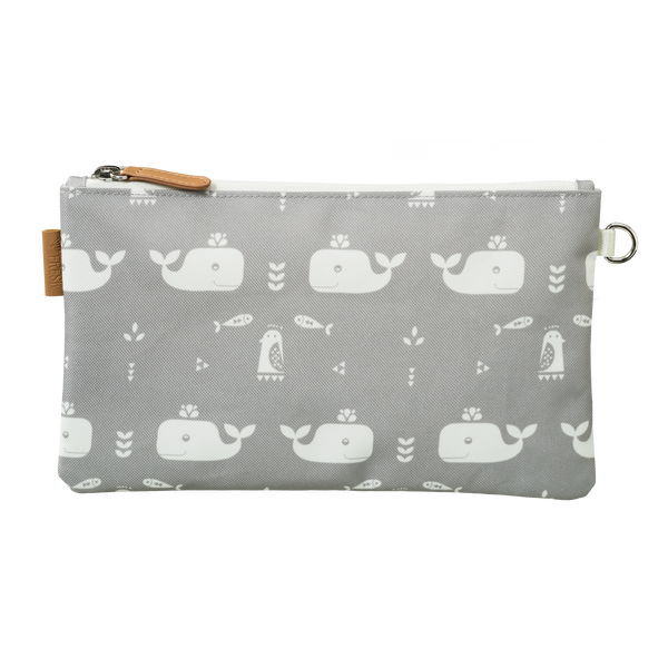 Toilettas/ etui whale dawn grey