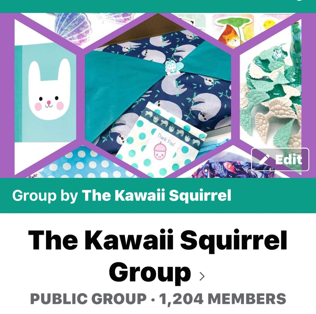 Our Facebook Kawaii Squirrel Group