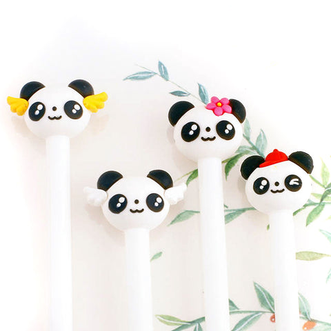 panda angel pen pens black fine line kawaii pandas uk cute stationery wings