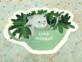 cute cat kitty in mug cute teacup postcard post card cards uk kawaii stationery store pretty animal animals