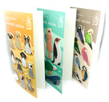 page marker sticky memo index tab animals birds standing up pack