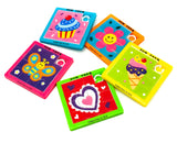 sliding block puzzle puzzles butterfly flower cupcake ice cream heart kids toys games activities uk gifts