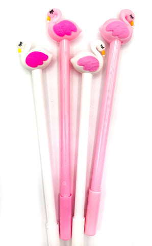 sleepy flamingo topper black fineline fine line pen pink white