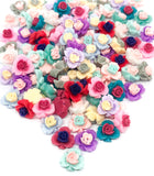 rose flower resin fb flat back flatbacks roses 12mm embellishments craft supplies rosebuds