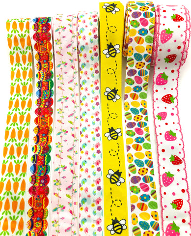 Spring Grosgrain Ribbon