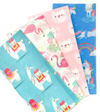 cute flamingo bay pink tissue paper pack of 10 sheets rex london uk packaging supplies kawaii flamingos