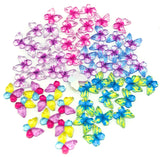 acrylic mini butterfly butterflies flat backs fbs flatback uk craft supplies cute pink and purple fb