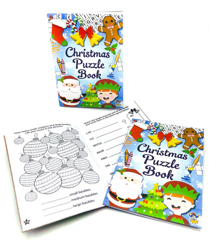 christmas puzzle book puzzles kids activity book cute kawaii stationery gifts festive gifts box books uk activities puzzles children stocking fillers