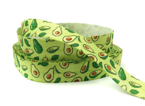 avocado avacado green fruit fruits ribbon elastic foe elastics ribbons uk cute kawaii craft supplies