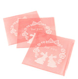 cello cellophane bags cute pink for you bunny rabbit bunnies pretty rabbits kawaii packaging bag self seal uk