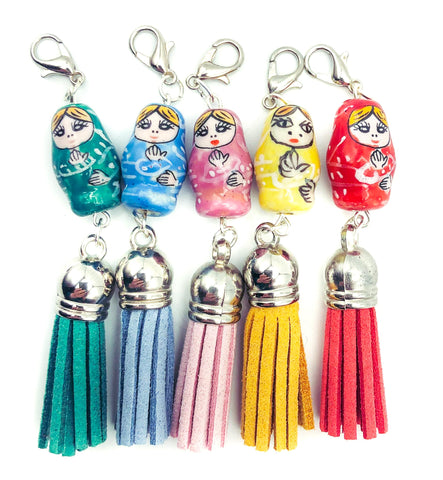 planner clip charm uk cute clips charms russian doll dolls matryoshka