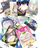 totoro postcard postcards bundle of 4 kawaii