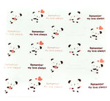 cello cellophane bags cute panda pandas remember me love always hearts kawaii packaging bag self seal uk