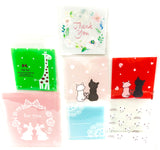 cello cellophane bags cute kawaii packaging bag self seal uk