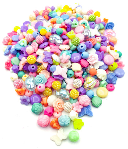 candy sweet shop colours pastel acrylic bead beads bundle kawaii bundles uk craft supplies
