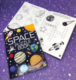 space kid kids childs activity book puzzle puzzles activities gift gifts galaxy planet uk kawaii cute present