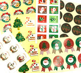53 festive sticker bundle Christmas stickers