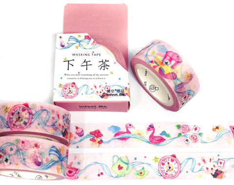 alice in wonderland pretty kawaii washi tape box boxed uk cute stationery pink