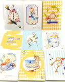 kawaii alice in wonderland cute postcards postcard uk stationery individual cards