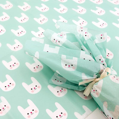 bonnie bunny tissue paper 10 sheets rex london uk packaging supplies cute kawaii