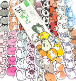 animal towers cute card bookmarks pack of 30 or single bookmark