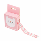 cute animal boxed 7m washi tape tapes kawaii stationery uk rex london cookie the cat pink cats