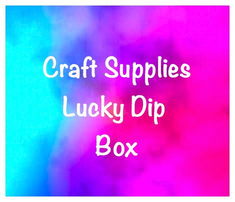 craft supplies lucky dip bundle box bargain materials for crafting uk