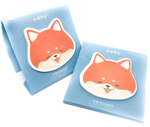 Fox Sticky Memo Pad