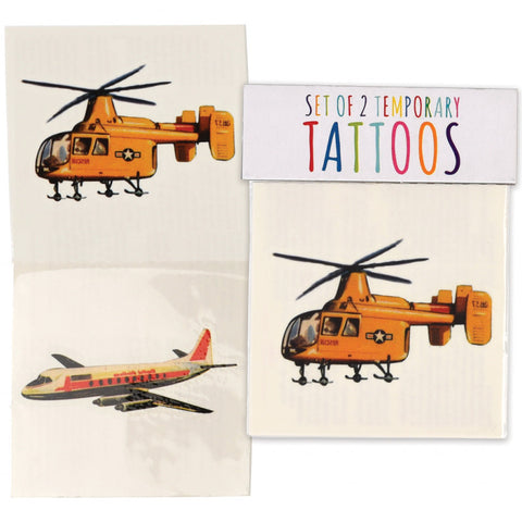 plane and helicopter military vehicle vehicles kids temporary tattoos tattoo uk cute kawaii gift gifts party bag stocking fillers boy boys