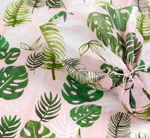 tropical palm palms leaves leaf tissue paper uk cute kawaii wrap packing supplies