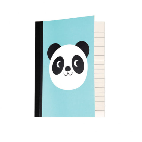 a6 notebook lined pages 60 page note book cute kawaii uk stationery miko panda pandas