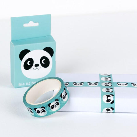 cute animal boxed 7m washi tape tapes kawaii stationery uk rex london miko the panda