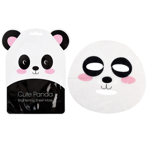 cute kawaii animal face sheet mask pack tiger panda mouse uk gifts