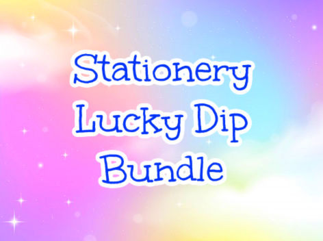 kawaii stationery lucky dip bundle bundles cute uk stickers pens washi gift gifts memo pretty sticker flakes gift gifts planner addict planning surprise box