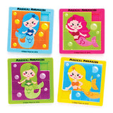 sliding block puzzle cute mermaid mermaids kids puzzles uk gift gifts toys games