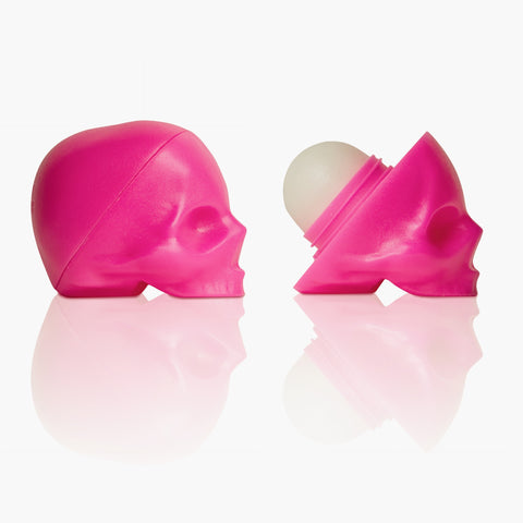 Capital Vices Pink Unisex Skull Lip Balm - Luxuria Passionfruit