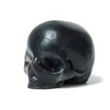 Black Activated Charcoal Glycerin Skull Soaps- 3 pack
