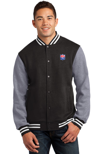Fleece Letterman Jacket - NFL Alumni Store