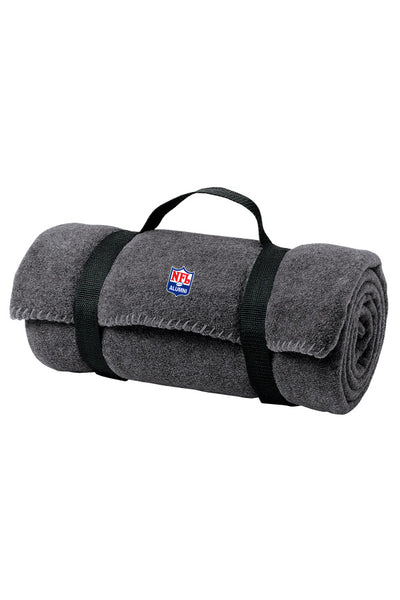 Value Fleece Blanket with Strap - NFL Alumni Store