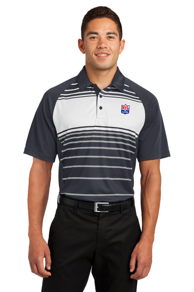 Sport-Tek - Dry Zone Sublimated Stripe Polo - NFL Alumni Store
